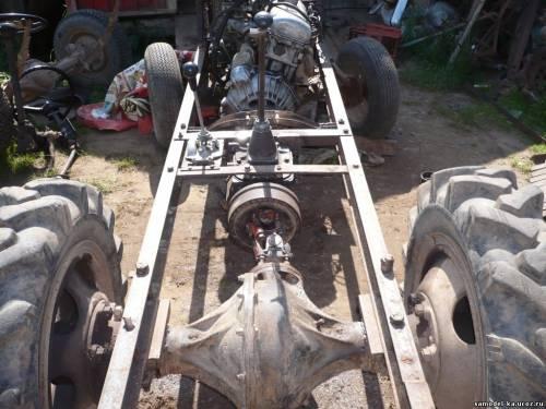 Сделать трактор своими руками из ваз