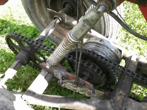 Как сделать квадроцикл своими руками из мопеда