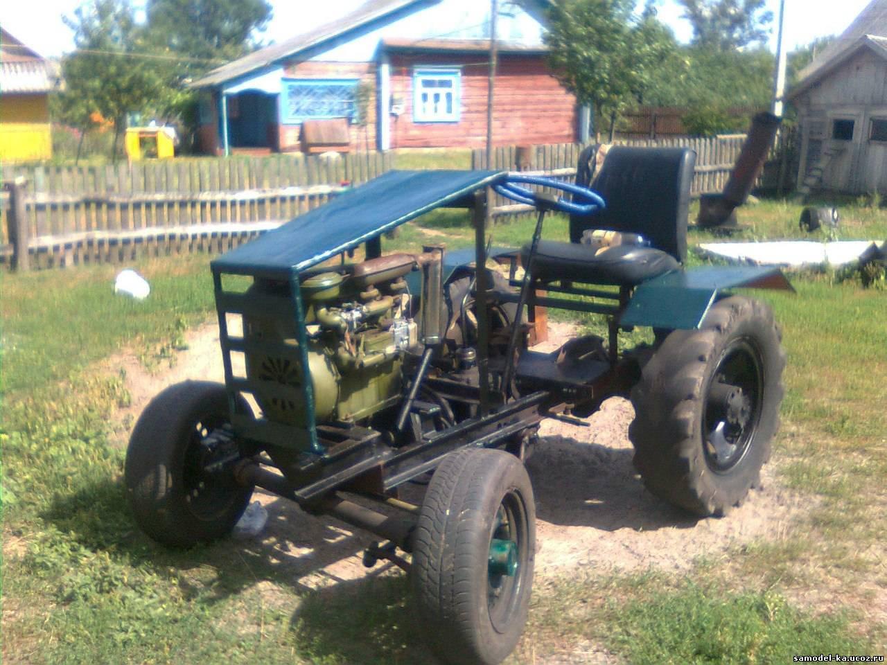 Самодельные трактора - Самоделки своими руками