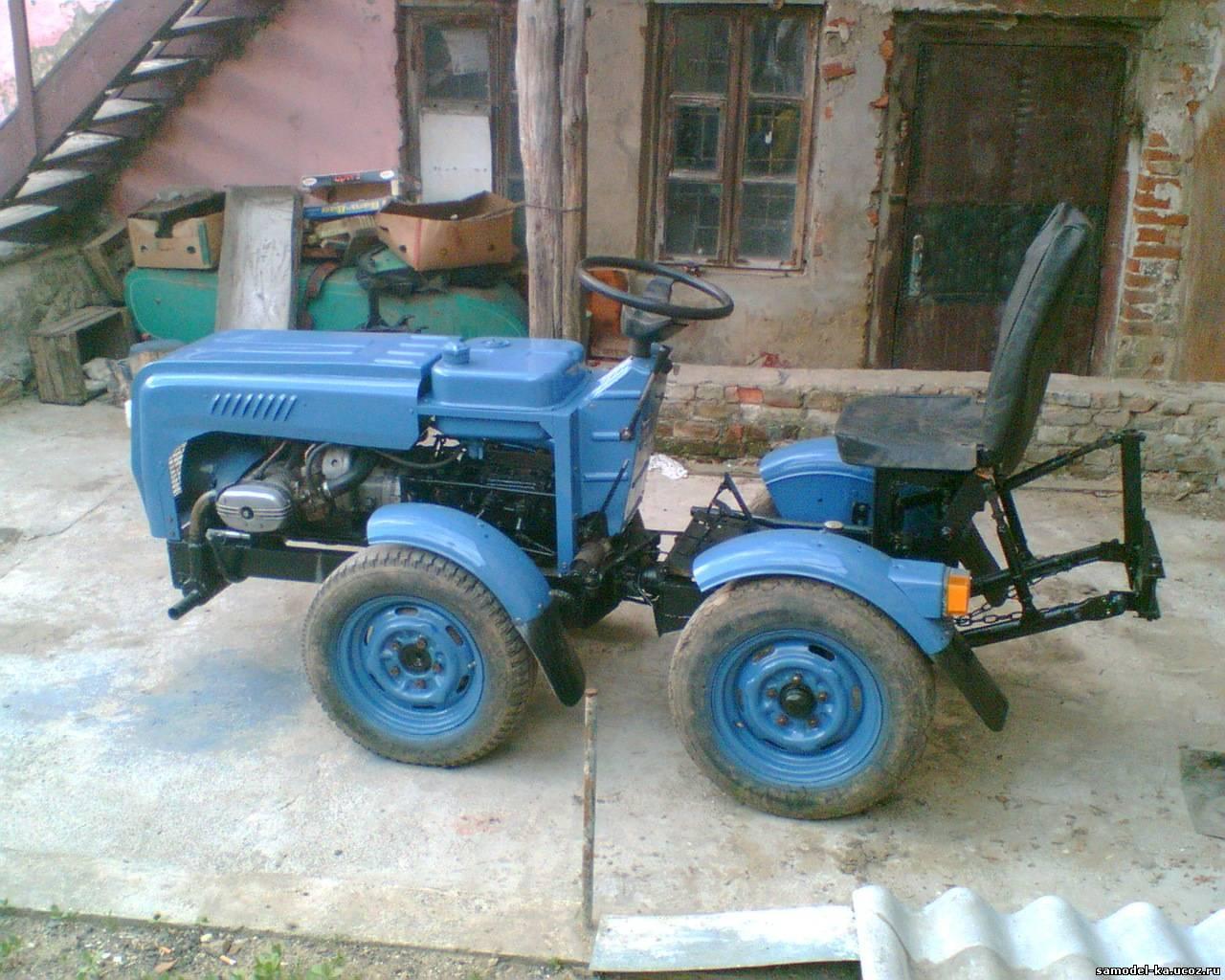 Трактор и самодельные минитрактора