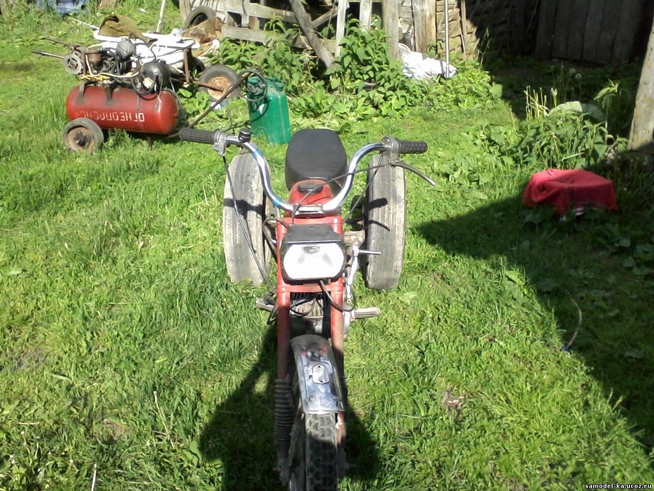 Трицикл своими руками фото