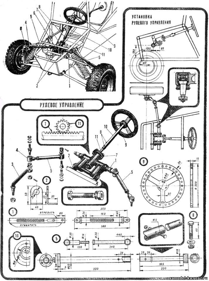 Цифра 5 иКвадроцикл своими руками чертежи
